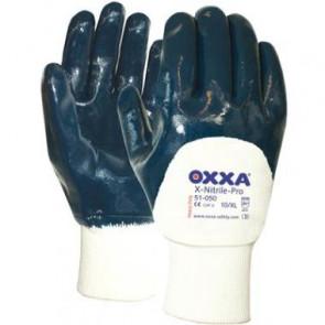 Oxxa X-Nitrile-Pro 51-050 Boord/open Werkhandschoen