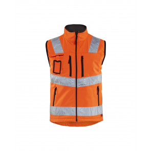 Blåkläder 3049 Softshell Vest High Vis