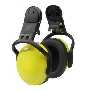 MSA left/RIGHT SNR28 geel helmbevestiging
