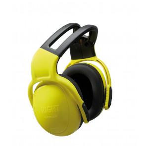 MSA left/RIGHT SNR28 geel hoofdband