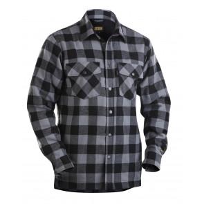 Blåkläder 3225 Overhemd Flanel. Gevoerd