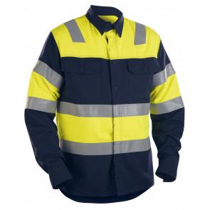 Blåkläder 3228 FR Overhemd High Vis