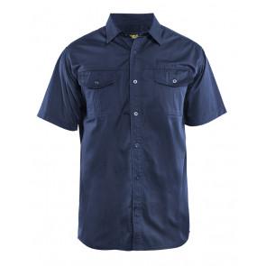 Blåkläder 3296 Overhemd Twill korte mouw