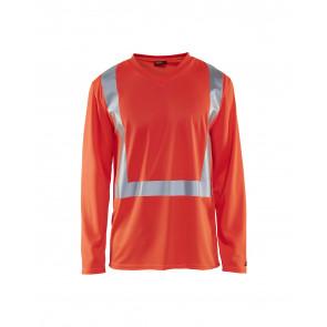 Blåkläder 3383 T-shirt lange mouw High Vis