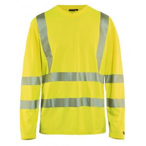 Blåkläder 3385 T-shirt lange mouw High Vis
