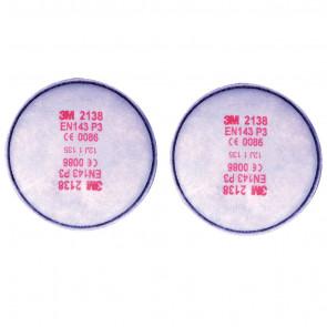 3M stofdeeltjesfilter beschermt tegen vaste en vloeibare deeltjes, actieve koolstof, zure gassen en ozon (hoge bescherming)