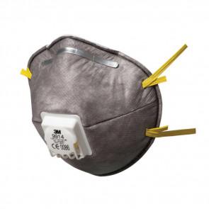 Stankmasker voor een geringe bescherming tegen organische dampen met uitademventiel