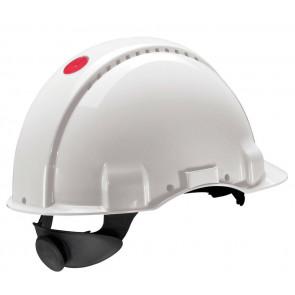 3M Peltor G3000N: extra ventilerende veiligheidshelm met 180° omkeerbaar binnenwerk (wit)