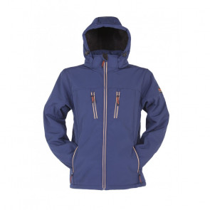 Storvik Clive Hooded Softshell Teddy Refl