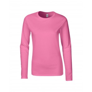 Gildan SoftStyle LS Dames T-shirt
