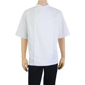 Chaud Devant Comfort Wit Short Sleeve Koksbuis