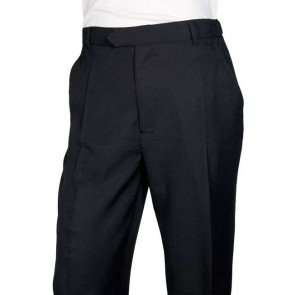 Chaud Devant Heren Zwart Pantalon