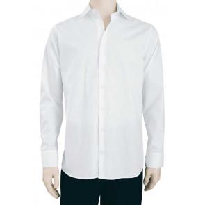 Chaud Devant Heren Wit Stretch Overhemd