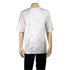 Chaud Devant Bacio Wit Short Sleeve Koksbuis