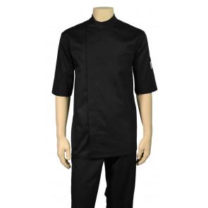 Chaud Devant Bacio Zwart Short Sleeve Koksbuis