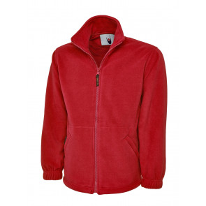 Uneek UC604 Fleecejack Full Zip Kinder Flesgroen XXL