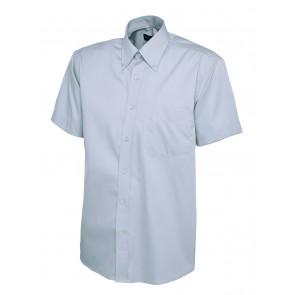 Uneek UC702 Overhemd Pinpoint Oxford Mannen korte mouwen